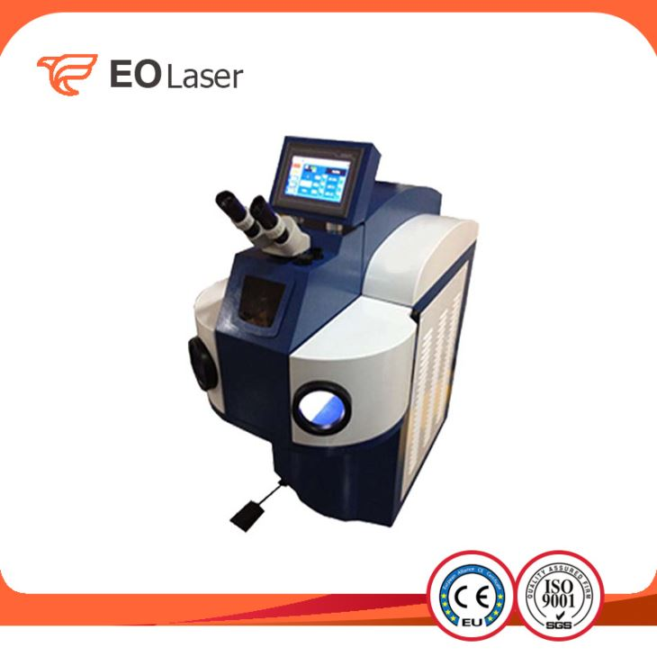 YAG Jewelry Laser Spot Welding Machine For Gold Silver Metal