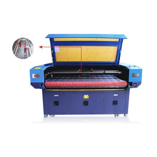 Double- Head Auto-feeding Acrylic Laser Cutting Machine