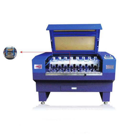 Ribbon Fabric Laser Cutting Machine