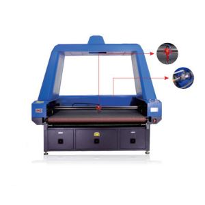 Laser Cutting Machine For Digital Printing Fabrics